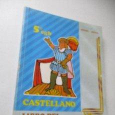 Libros de segunda mano: 5º. EGB., CASTELLANO, LIBRO DEL PROFESOR, EDELVIVES-EDT: LUIS VIVES - 1985. Lote 98065791
