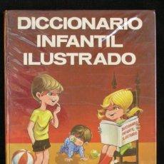 Libros de segunda mano: DICCIONARIO INFANTIL ILUSTRADO - EDICIONES MENSAJERO - BILBAO 1969. Lote 98798887