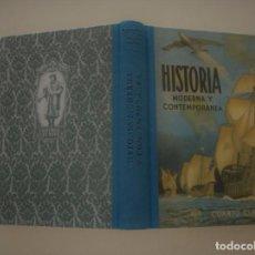Libros de segunda mano: EDELVIVES. HISTORIA MODERNA Y CONTEMPORÁNEA. CUARTO CURSO. EDICIÓN FACSÍMIL. RMT83321. . Lote 98907495
