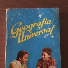 Libros de segunda mano: GEOGRAFÍA UNIVERSAL 2. Lote 98964667