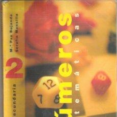 Libros de segunda mano: 1 LIBRO TEXTO AÑO 1997 - MATEMATICAS - NUMEROS 2º ESO SECUNDARIA ( SM ). Lote 99020959