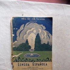 Libros de segunda mano: LENGUA ESPAÑOLA CURSO SEGUNDO MARIA SAN JOSE FERNNANDEZ. Lote 99237111