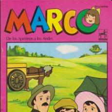 Livres d'occasion: LIBRETA ESCOLAR SERIE TV MARCO. Lote 173600968