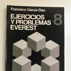 Libros de segunda mano: EJERCICIOS Y PROBLEMAS EVEREST 8. Lote 99871215