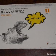Libri di seconda mano: LIBRO DIBUJO ARTISTICO. 2º ESO. ADUCACION PLASTICA, VISUAL Y AUDIOVISUAL. SERIE DISEÑA. NIVEL II ESO. Lote 100302123