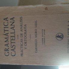 Libros de segunda mano: LIBRO GRAMÁTICA CASTELLANA. Lote 100459015