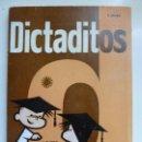 Libros de segunda mano: DICTADITOS. PASCUAL. 4º CURSO. Lote 100718959