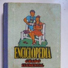 Libros de segunda mano: ENCICLOPEDIA GRADO ELEMENTAL. AÑO 1970. Lote 100962595