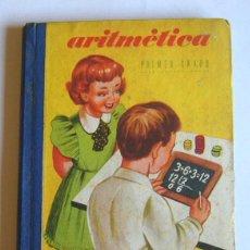 Libros de segunda mano: TRATADO DE ARITMETICA ELEMENTAL - PRIMER GRADO - EDICIONES BRUÑO. 1954. Lote 101936671