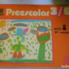 Libros de segunda mano - PREESCOLAR 3/6 NIVEL 2 PRIMER TRIMESTRE EDITORIAL CINCEL AÑO 1981 - 102381415