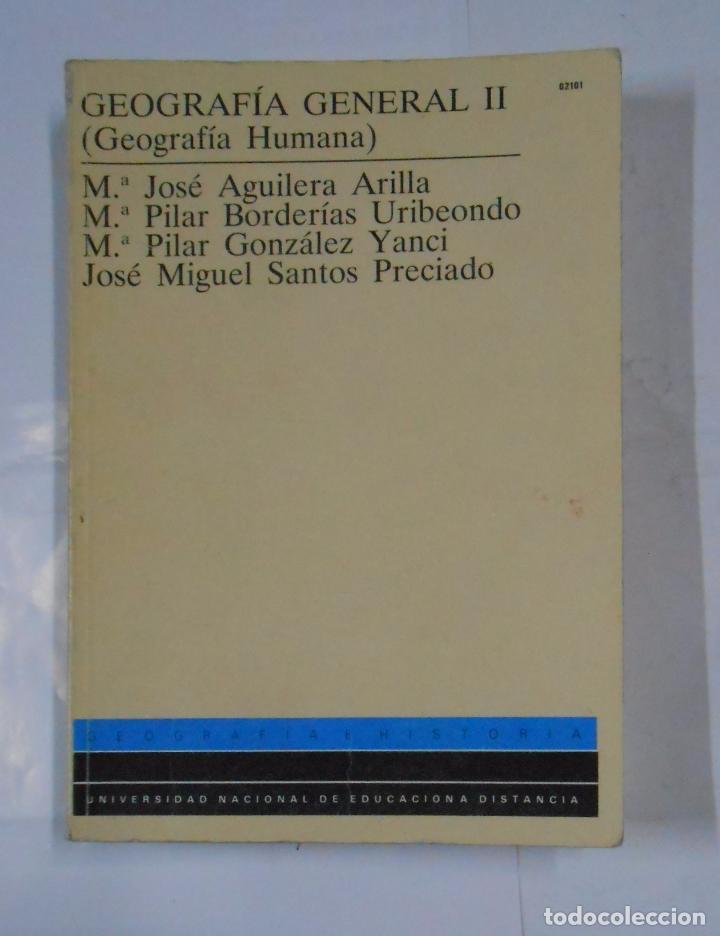 geografia general ii. geografia humana. uned. m - Comprar