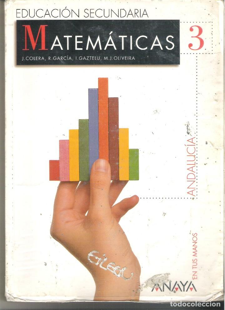 1 Libro De Texto Año 2002 Matematicas 3º Es Comprar Libros De Texto En Todocoleccion 102446207