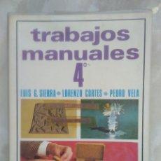 Libros de segunda mano: MANUALIDADES ANAYA 4º -VEA FOTOS COMO DESCRIPCIÓN -LE COND DE ENVÍO. Lote 102601847