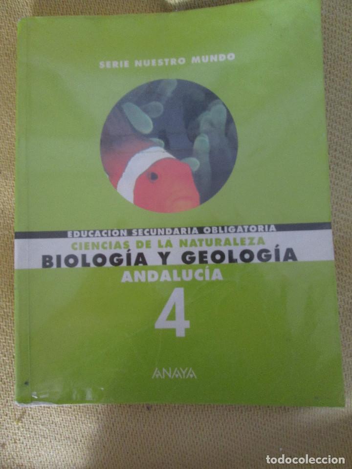 Biología Y Geología 4 Eso Anaya 1998 Libro Comprar Libros De Texto En Todocoleccion 103211907