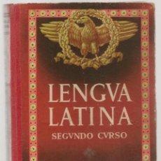 Libros de segunda mano: LENGUA LATINA. SEGUNDO CURSO. EDITORIAL LUIS VIVES. 1954. (P/C12). Lote 103213283