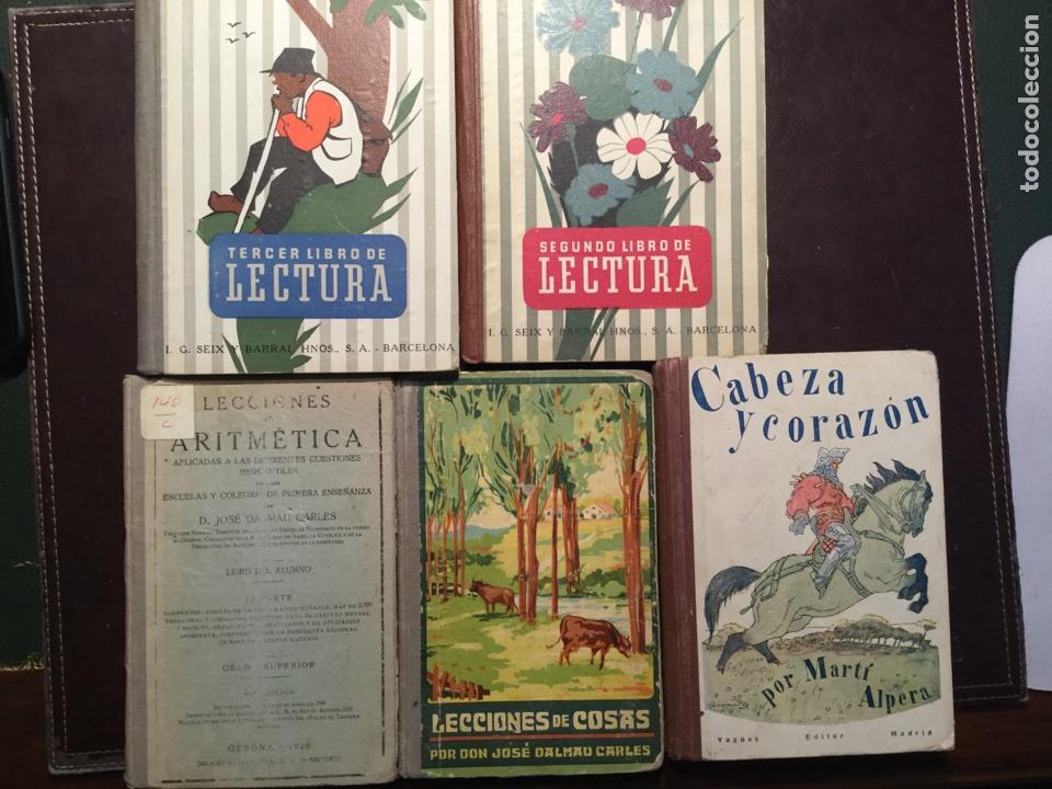 LOTE LIBROS ESCOLARES. AÑOS 20 Y AÑOS 50 (Libros de Segunda Mano - Libros de Texto )