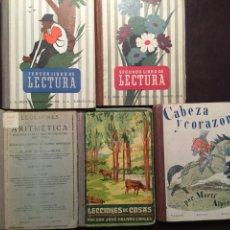 Libros de segunda mano: LOTE LIBROS ESCOLARES. AÑOS 20 Y AÑOS 50. Lote 103745582