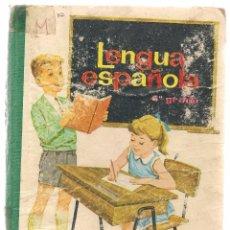 Libros de segunda mano - LENGUA ESPAÑOLA. 4º GRADO. EDICIONES S.M. 1965. (Z/2) - 103916647