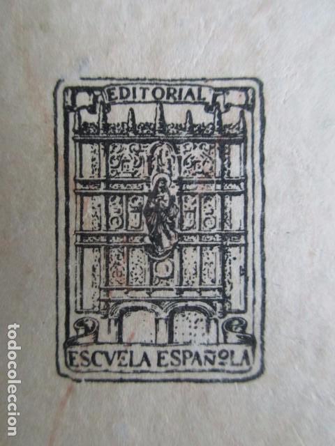 Libros de segunda mano: LECCIONES DE COSAS, EZEQUIEL SOLANA, EDITORIAL ESCUELA ESPAÑOLA, MADRID, 1960, MUY BUEN ESTADO - Foto 5 - 103998391
