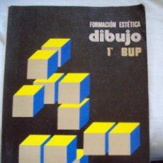 Libros de segunda mano: FORMACION ESTETICA DIBUJO 1º BUP EMILIO BARNECHEA Y RAFAEL REQUENA EDELVIVES. Lote 104031843