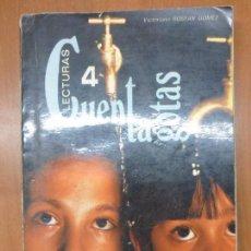 Libros de segunda mano: LECTURAS CUENTA GOTAS 4 EGB, EDELVIVES 1973, LIBRO DE TEXTO ANTIGUO, CUENTAGOTAS. Lote 146499620