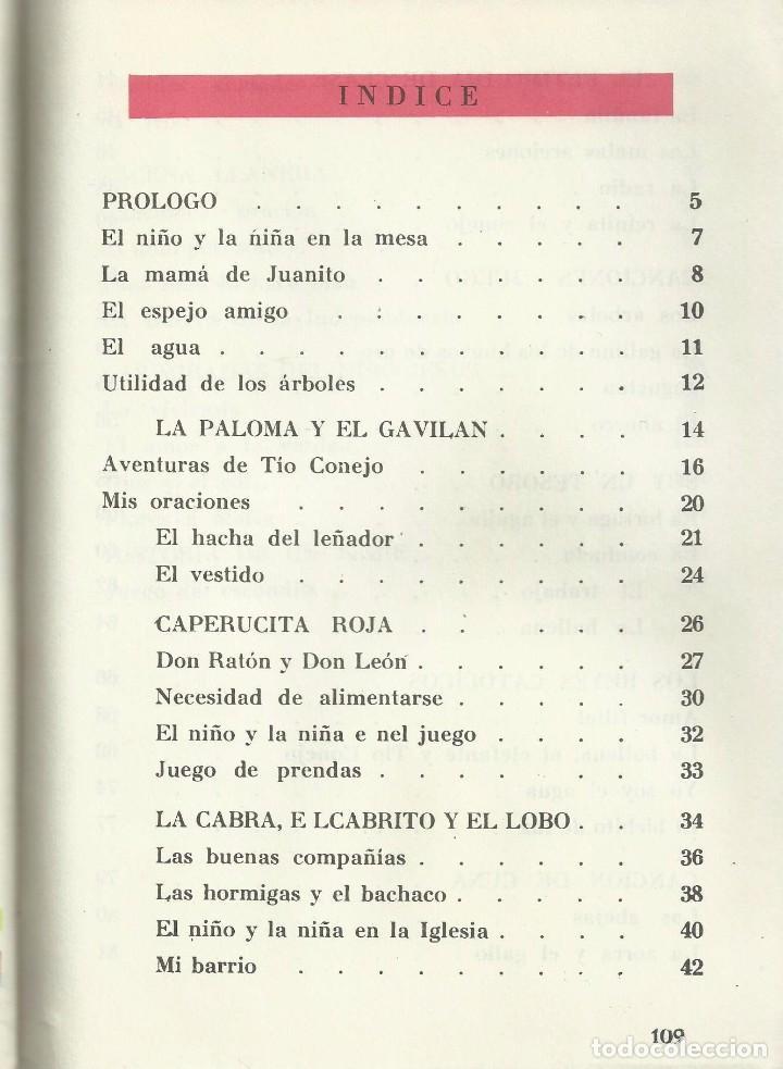 Libros de segunda mano: JAVIER, LECTURAS SELECTAS PARA SEGUNDO (2) GRADO. ANGEL DIAZ DE CERIO. EDITORIAL ROMA, 1965 - Foto 3 - 104558311
