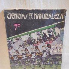 Libros de segunda mano: M69 LIBRO DE TEXTO CIENCIAS NATURALES. 7º EGB. ED. SM. 1981.. Lote 105156959