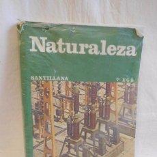 Libros de segunda mano: M69 LIBRO DE TEXTO CIENCIAS NATURALES. 7º EGB. ED. SANTILLANA. 1981. Lote 105158159