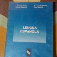 Libros de segunda mano: UNED LENGUA ESPAÑOLA 1991. Lote 105348527