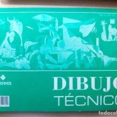 Libros de segunda mano: CUADERNO DIBUJO TÉCNICO. EDITORIAL EDELVIVES. . Lote 105836991