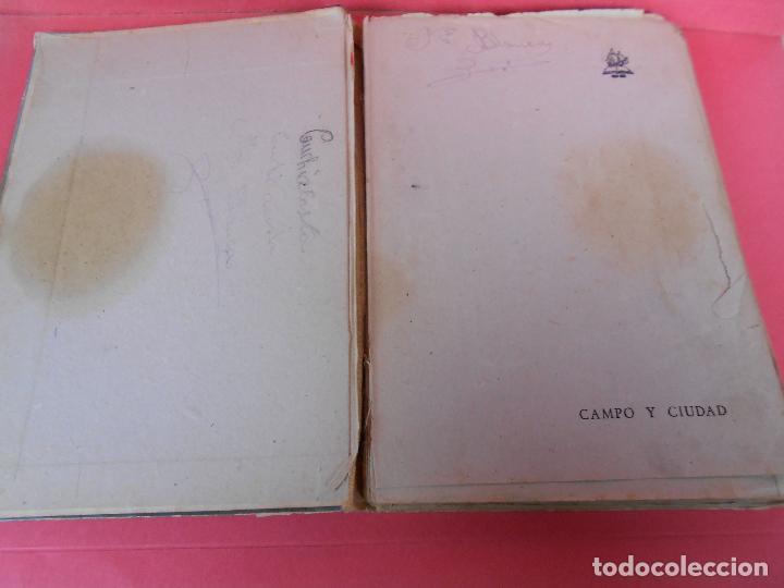 Libros de segunda mano: Campo y ciudad, (Mercedes Sanz Bachiller), Textos Escolares Aguado 1942 - Foto 2 - 106088403