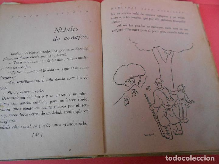 Libros de segunda mano: Campo y ciudad, (Mercedes Sanz Bachiller), Textos Escolares Aguado 1942 - Foto 5 - 106088403