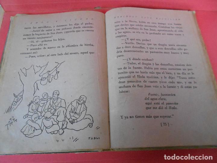 Libros de segunda mano: Campo y ciudad, (Mercedes Sanz Bachiller), Textos Escolares Aguado 1942 - Foto 6 - 106088403