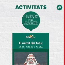 Libros de segunda mano: LLEGIR PER SABER: EL MIRALL DEL FUTUR (CATALÁN).. Lote 106138448