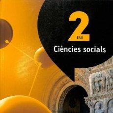 Libros de segunda mano: CIÈNCIES SOCIALS 2 ESO (ATÒMIUM) (CATALÁN).. Lote 106144035