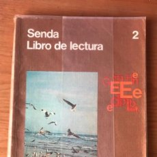 Libros de segunda mano: SENDA LIBRO DE LECTURA 2 - EGB SANTILLANA - E.G.B. - PLASTIFICADO. Lote 106628031