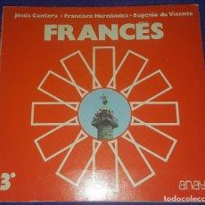 Libros de segunda mano: FRANCÉS 3º BUP - ANAYA. Lote 220531723
