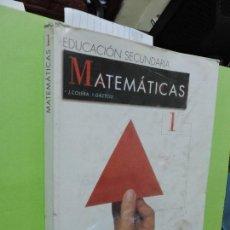 Libros de segunda mano: MATEMÁTICAS 1º ESO. COLERA, J. GAZTELU, I. ED. ANAYA. MADRID 2002. Lote 107570443