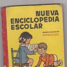 Libri di seconda mano: NUEVA ENCICLOPEDIA ESCOLAR. GRADO DE INICIACIÓN ( PÁRVULOS) H. DE SANTIAGO RODRÍGUEZ 1951.. Lote 107649883