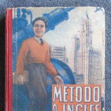 Libros de segunda mano: METODO DE INGLÉS, TERCER GRADO. POR EDELVIVES. EDIT. LUIS VIVES. S.A. ZARAGOZA 1950. Lote 109236743
