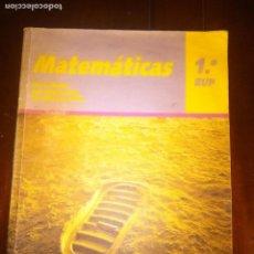 Libros de segunda mano: MATEMATICAS 1º BUP. . ED. SANTILLANA.. Lote 109613087