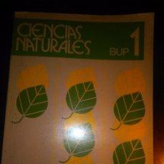 Libros de segunda mano: LIBRO DE TEXTO CIENCIAS NATURALES. BUP 1. EDELVIVES 1990. ESPERANZA DIAZ MIGUEL Y OTROS.. Lote 109614007