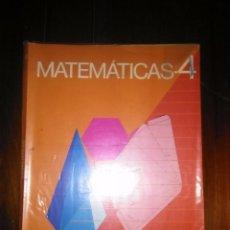 Libros de segunda mano: LIBRO DE TEXTO MATEMATICAS 4 EGB CICLO MEDIO VICENS VIVES. Lote 109614851