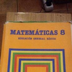 Libros de segunda mano: MATEMATICAS 8 SANTILLANA. Lote 109821806