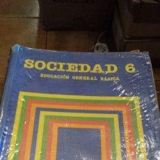 Libros de segunda mano: SOCIEDAD 6 SANTILLANA. Lote 109822486