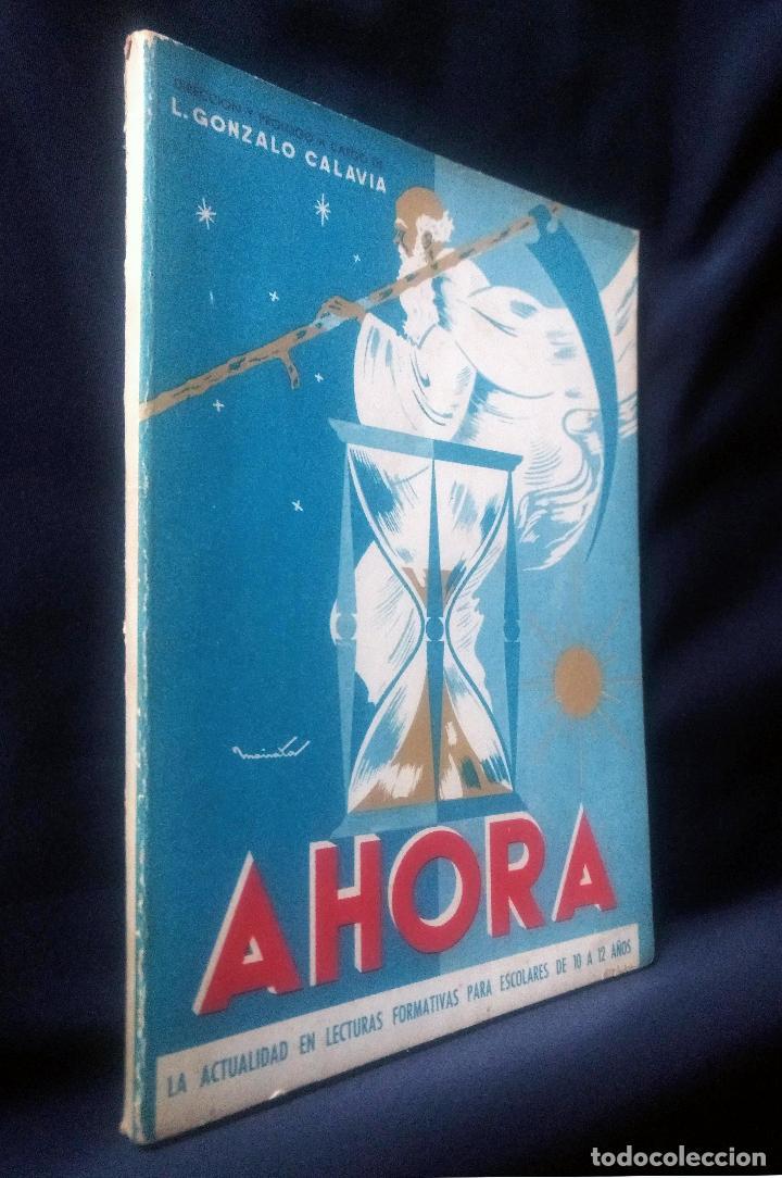 AHORA | GONZALO CALAVIA | PARANINFO 1963 (Libros de Segunda Mano - Libros de Texto )