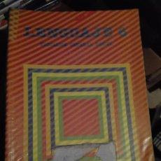 Libros de segunda mano: LIBRO SANTILLANA EGB AÑOS 80 /LENGUAJE 6 LIBRO FORRADO. Lote 110196151