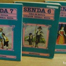 Libros de segunda mano: LIBROS DE LECTURA SENDA 6 ,7 , Y 8 . Lote 158775633