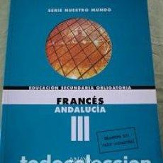 Libros de segunda mano: LIBRO DE FRANCES ESO. Lote 110397315