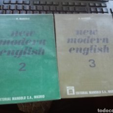 Libros de segunda mano: NEW MODER ENGLISH MANGOLD VOL 2.Y 3. Lote 110469952